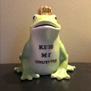 Juicy Couture Frog Coin Bank